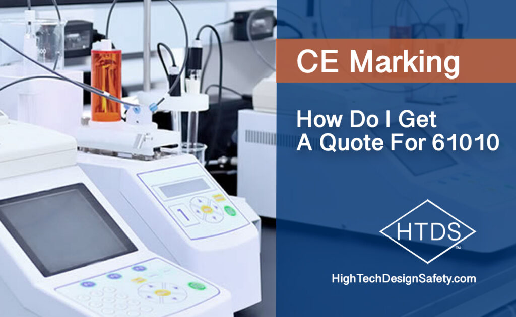 Get a Quote for 61010 For CE Marking